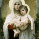 MADONNA OF THE ROSES cross stitch pattern