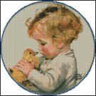 BABIES cross stitch pattern