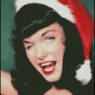 PIN UP BETTIE PAGE cross stitch pattern
