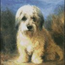 DOG A DANDIE DINMONT cross stitch pattern