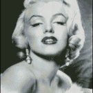MARILYN MONROE 17 cross stitch pattern