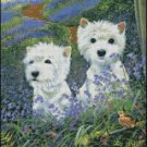 Dogs WESTIES cross stitch pattern