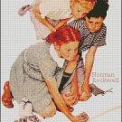 MARBLE CHAMPION cross stitch pattern