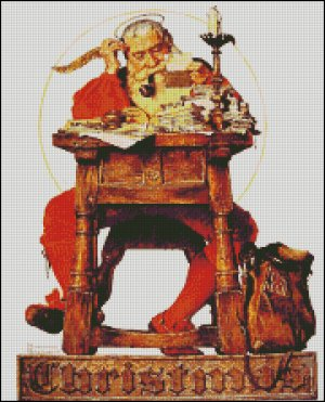 Santa Cross Stitch Patterns - Squidoo : Welcome to Squidoo