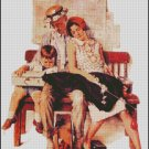 FAMILY HOME FROM VACATION cross stitch pattern