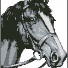 HORSE 2 cross stitch pattern
