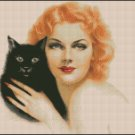 ANN SHERIDAN cross stitch pattern