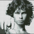 JIM MORRISON 2 cross stitch pattern
