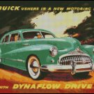 BUICK 1948 AD cross stitch pattern