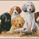 PUPPIES cross stitch pattern