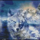 WOLF PACK cross stitch pattern