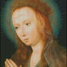 VIRGIN AT PRAYER cross stitch pattern