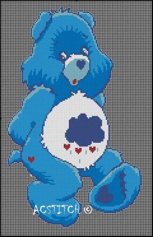 Grandmother's Pattern Book » free crochet cross stitch baby