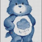 CARE BEAR GRUMPY cross stitch pattern