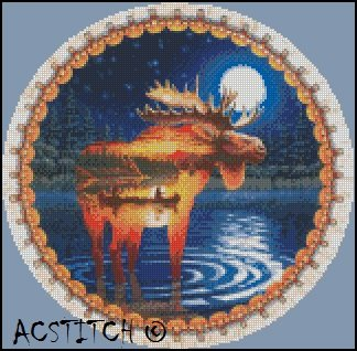 ADIRONACK cross stitch pattern