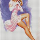 PIN UP 12 cross stitch pattern