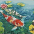 KOI FISH 3 cross stitch pattern