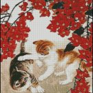 TWO KITTENS cross stitch pattern