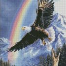 EAGLE cross stitch pattern