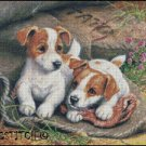 JACK RUSSELLS cross stitch pattern