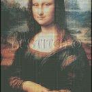 MONA LISA La Gioconda cross stitch pattern