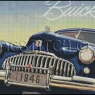 BUICK 1946 cross stitch pattern
