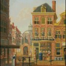VIEW IN AMSTERDAM cross stitch pattern