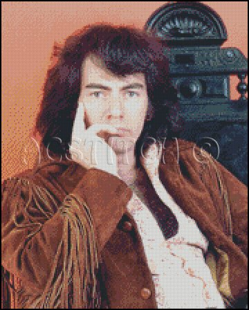 NEIL DIAMOND cross stitch pattern