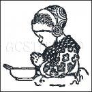 PRAYER HANS cross stitch pattern