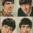THE BEATLES 6 cross stitch pattern