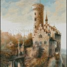 LICHTENSTEIN CASTLE cross stitch pattern