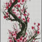 CHERRY BLOSSOM 5 cross stitch pattern