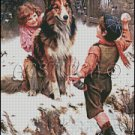 WINTER PLAY cross stitch pattern