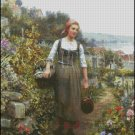 COMING HOME FROM MARKET cross stitch pattern