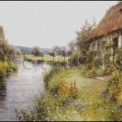 A BEND IN THE RIVER cross stitch pattern