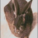 VINTAGE HARE cross stitch pattern