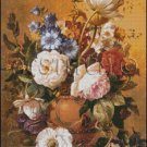 Still Life Of Summer Flowers 1 cross stitch pattern