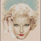 WOMAN Portrait 9 cross stitch pattern