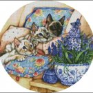 CATS 2 cross stitch pattern