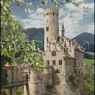 LICHTENSTEIN CASTLE 2 cross stitch pattern