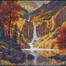 WATERFALL cross stitch pattern