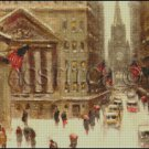 WINTER NEW YORK cross stitch pattern