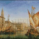 THE DOGES PALACE cross stitch pattern