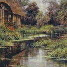 SUMMER AFTERNOON NORMANDY cross stitch pattern