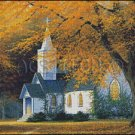 THE CHURCH cross stitch pattern