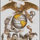 UNITED STATES MARINE CORPS 3 cross stitch pattern
