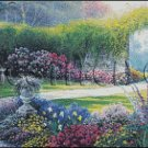 DOWN THE GARDEN cross stitch pattern
