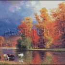 ON THE SACO cross stitch pattern