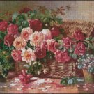 FLORAL STILL LIFE cross stitch pattern