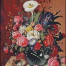 FLORAL STILL LIFE 2 cross stitch pattern